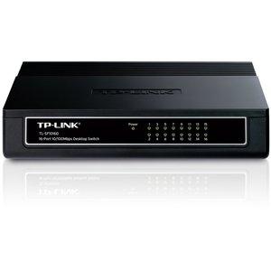TP-Link TP-LINK TL-SF1016DS netwerk-switch Fast Ethernet (10/100) Zwart