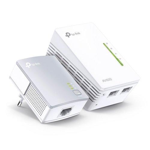 TP-Link TP-LINK AV600 300 Mbit/s Ethernet LAN Wi-Fi Wit 2 stuk(s)