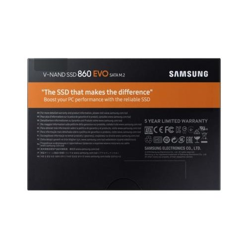 Samsung SSD  860 EVO M.2 1000 GB SATA III V-NAND MLC