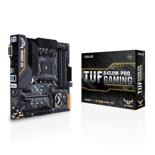 Asus MB  TUF B450M-PRO GAMING AMD B450 AM4 mATX