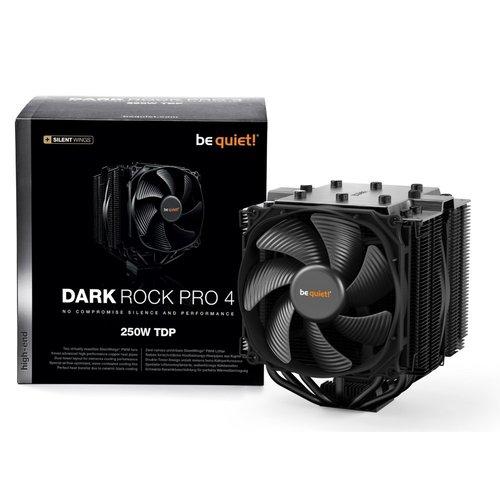 be quiet! Be quiet! Dark Rock Pro 4 Processor Koeler 120/135 mm Zwart