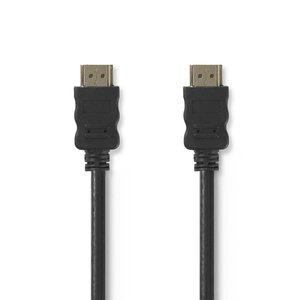 Nedis CVGP34000BK15 video kabel adapter 1,5 m HDMI Zwart