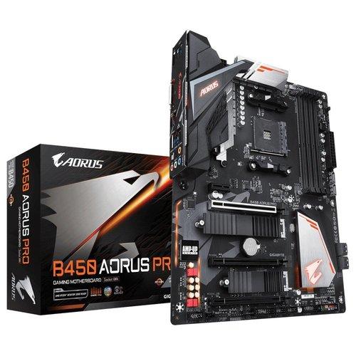 Gigabyte B450 AORUS PRO (rev. 1.0) AMD B450 Socket AM4 ATX