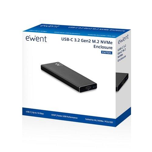Ewent USB 3.1 Gen2 USB-C M.2 NVMe SSD enclosure