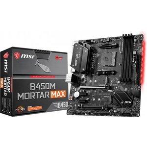 MSI B450M Mortar Max AMD B450 Socket AM4 micro ATX
