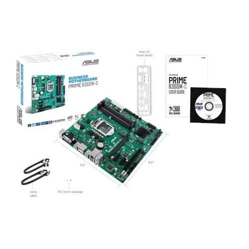 Asus MB  B360M-C Intel® B360 1151 mATX