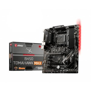 MSI B450 TOMAHAWK MAX II moederbord AMD B450 Socket AM4 ATX