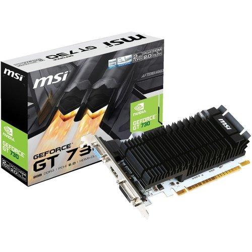 MSI VGA  GeForce GT730 Passive 2GB / DVI / HDMI / PCI-E