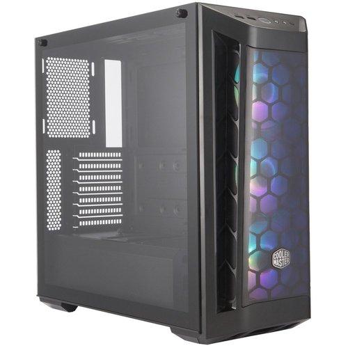 CoolerMaster Case Cooler Master MasterBox MB511 ARGB Midi Tower Zwart