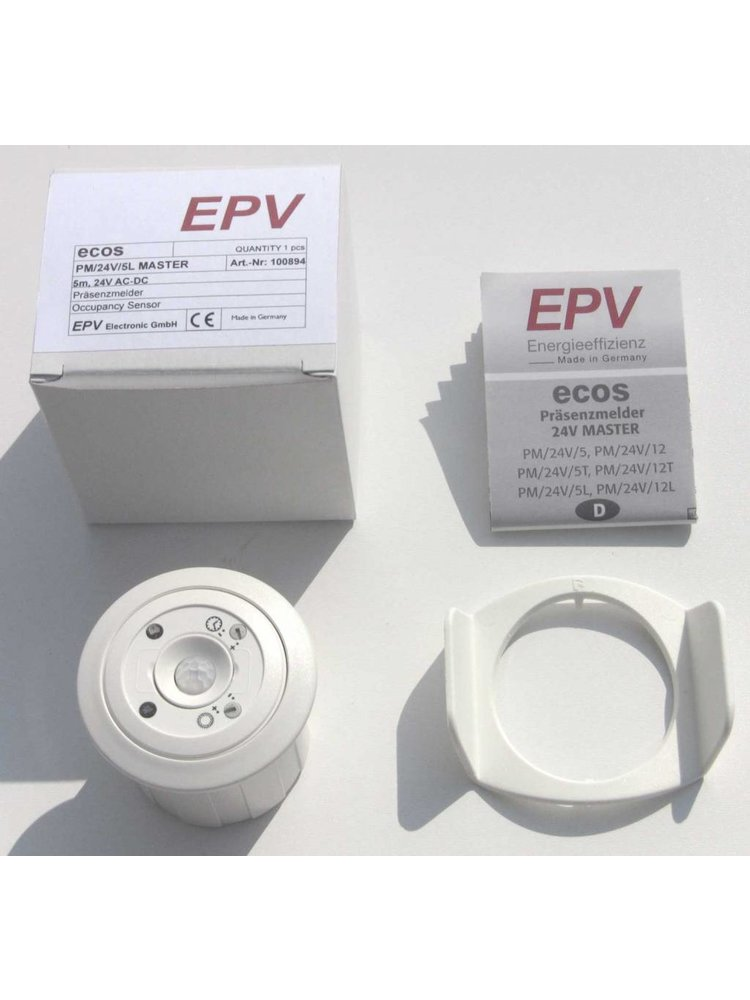 EPV Präsenzmelder ecos PM/24V/T MASTER