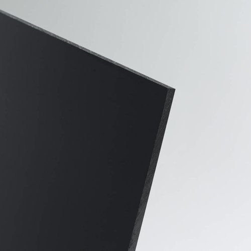 SIMONA PE-HD Kunststoffplatte Schwarz