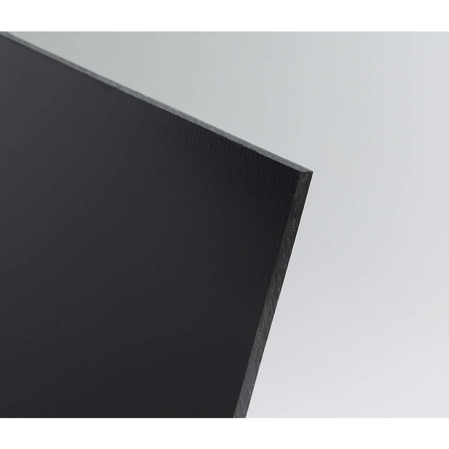 Hart-PVC Kunststoffplatte Schwarz