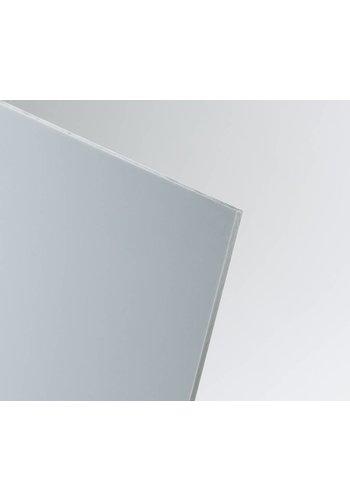 Hart-PVC Kunststoffplatte Hellgrau