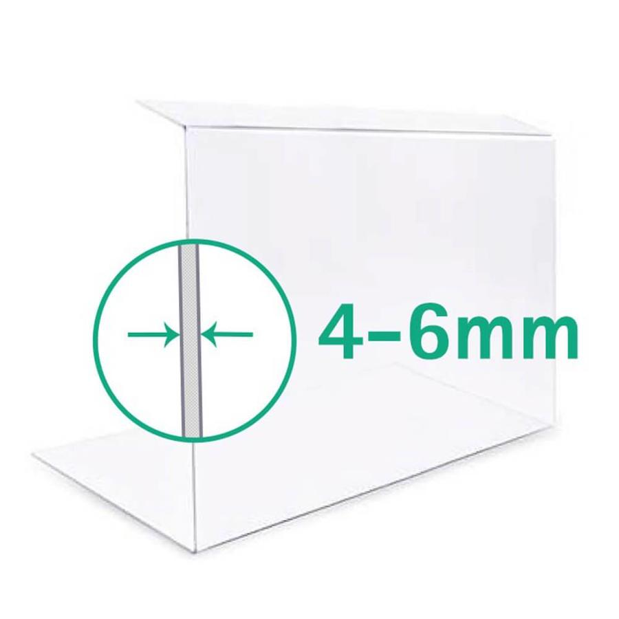 50cm | Spuckschutz Hustenschutz | Typ 2 | 4-6 mm dick