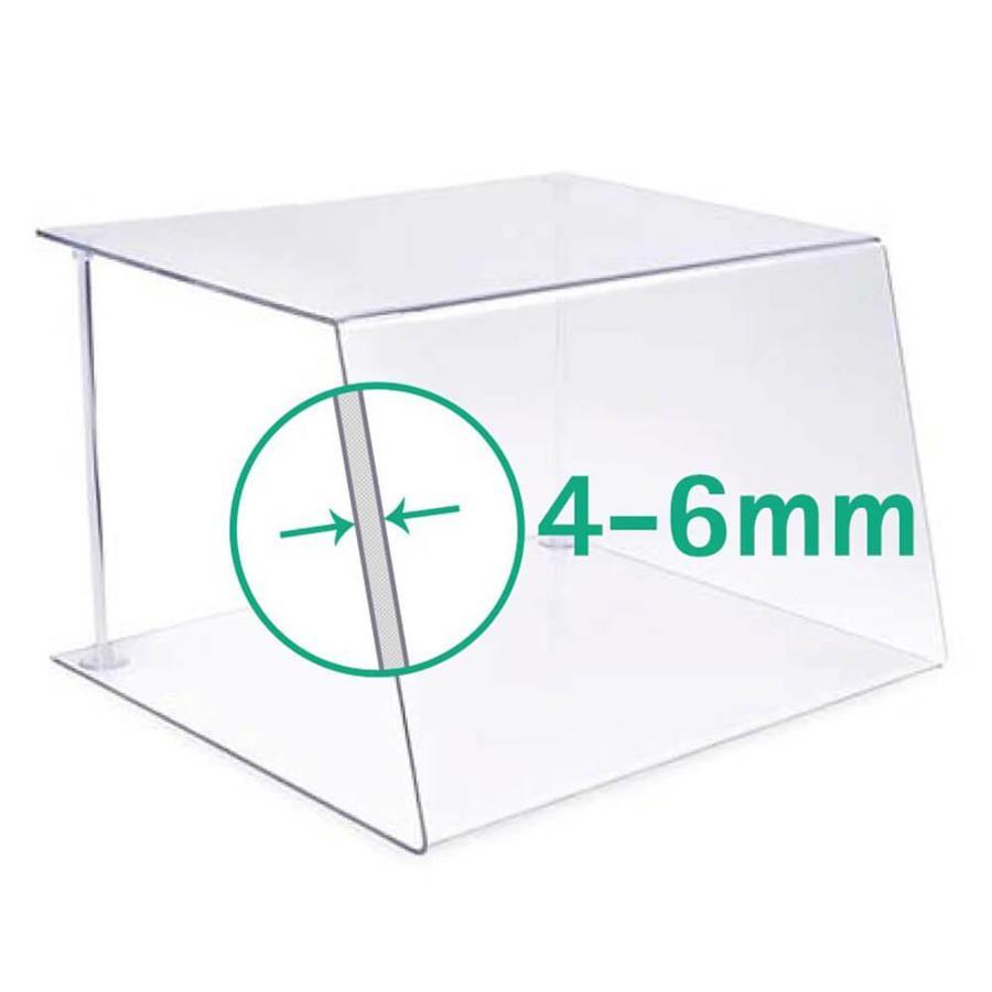 100cm | Spuckschutz Hustenschutz | Typ 1 | 4-6 mm dick