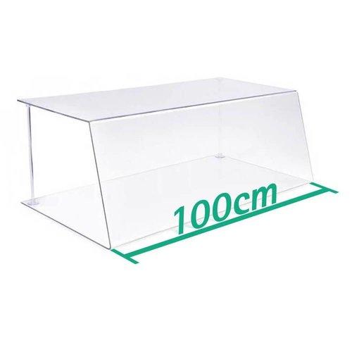 Spuckschutz Thekenaufsatz 100cm Typ 1