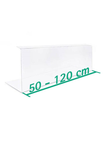 A+H Kunststoffe Coronaschutz | 50-120 cm