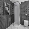A+H Kunststoffe Duschrückwand weiß | 200x100 cm