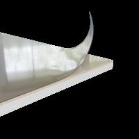 Duschrückwand beige creme | 250x100 cm