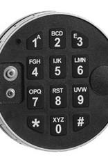 Elektronisch slot DE2010/EM kluisslot