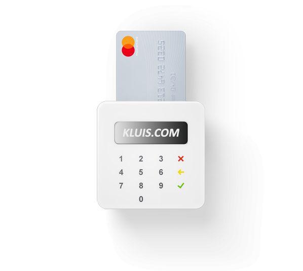 Extra betaalmogelijkheden bij KLUIS.COM