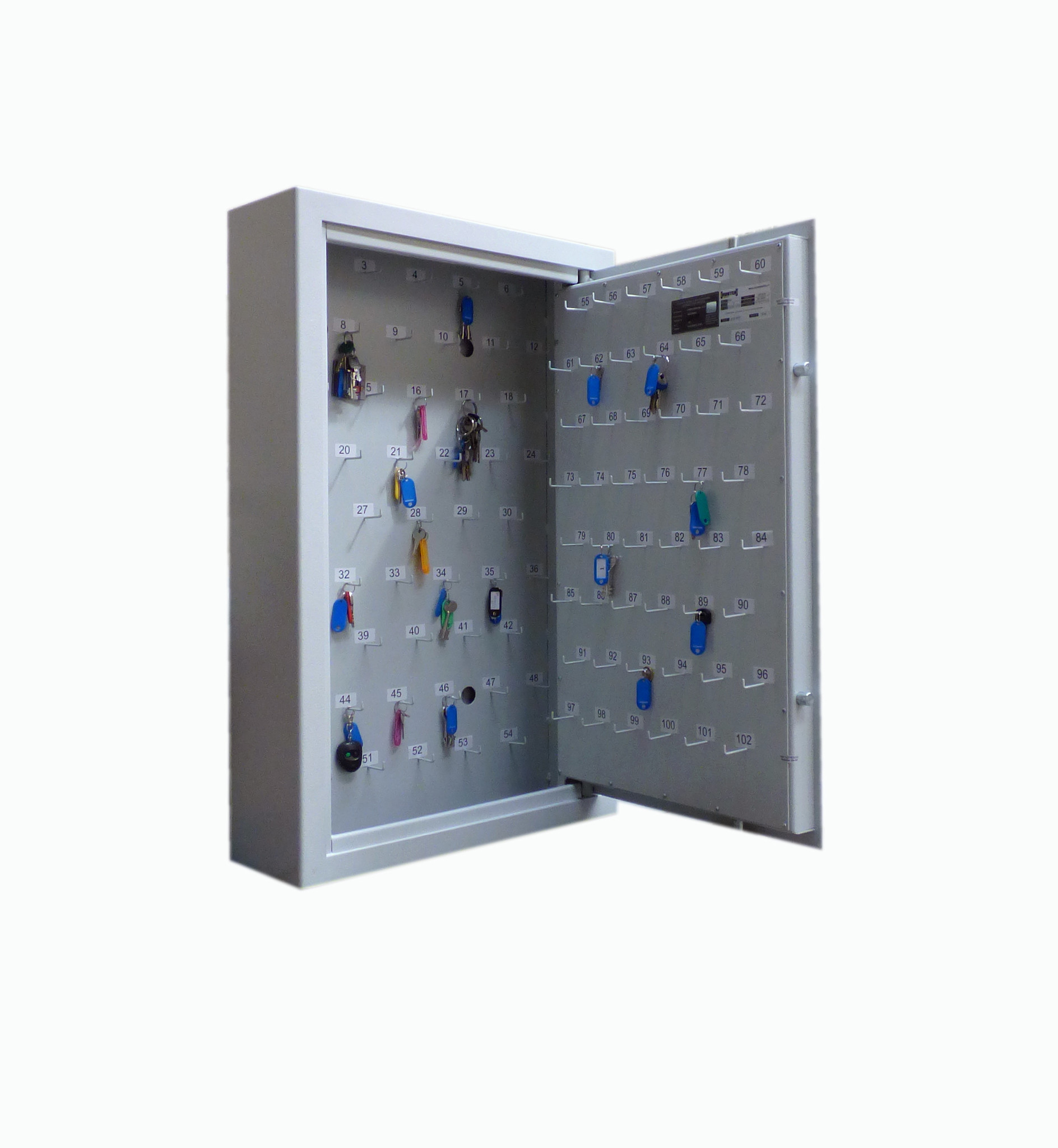 Sleutelkluis K950 voor 50 - 100 sleutels, rdw kluis, bovag kluis, sleutekluis autobedrijf
