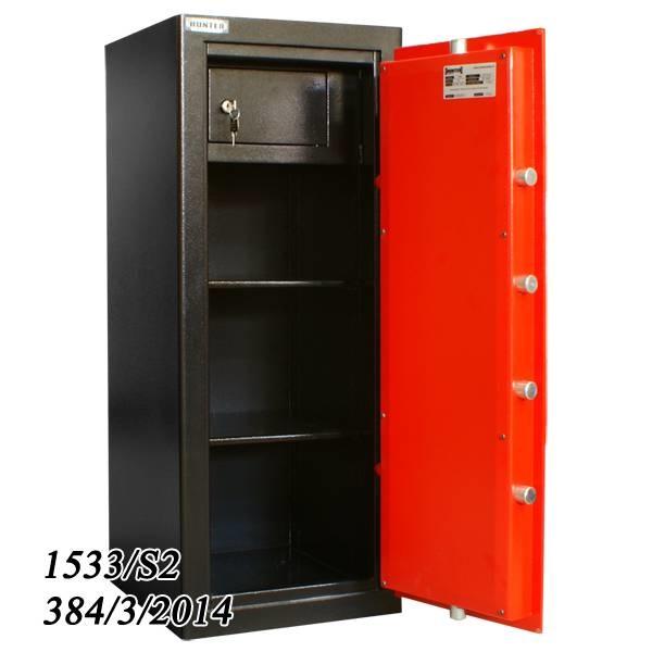 NL-Brandkast 1533/S-2 met binnenkluis