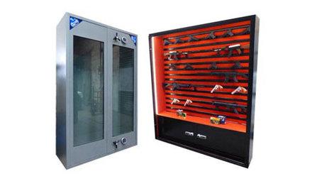 PantzerGlass - avant-garde, glazed gun cabinet