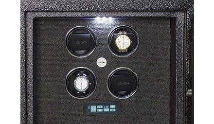 Un coffre-fort unieque pour vos montres élégantes