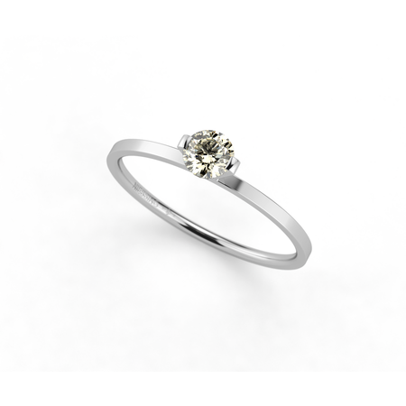 Niessing Princess lemon 0.23ct