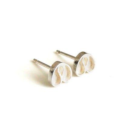 vanNienke Tulp oorstekers zilver klein