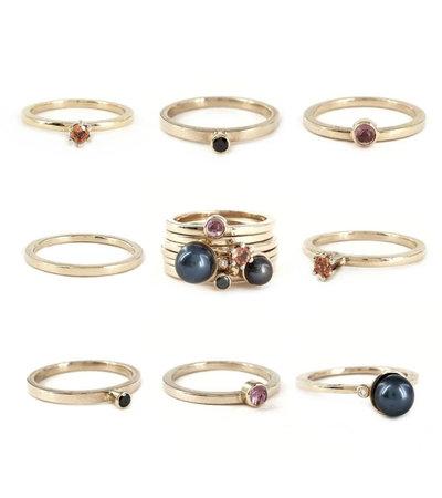 G.S.E. Bouquet rings vanNienke®