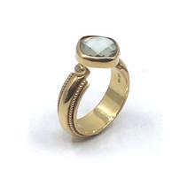 vanNienke praseoliet ring met diamant