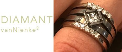 vanNienke jewellery and design - goldsmith - Diamonds