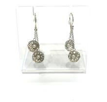 Moederdag tip: Zilveren oorhangers met gouden oorhaken