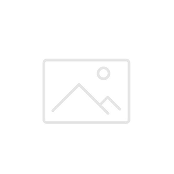 vanNienke Zwart zilver oogjescollier met gouden bolletje 43cm