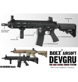 Bolt Full metal upper &amp; lower receiver<br />Metal trigger, fire selector &amp; magazine release<br />Custom Bolt stock with quick access battery compartment<br />Metal front Keymod RIS<br />Bolts' custom cookie cutter style flash hider<br /><br />Comes complete with a metal 300 rd high capacit