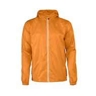 Windbreaker voor heren in oranje