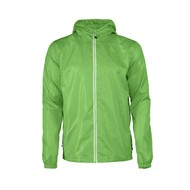 Windbreaker voor heren in limoen