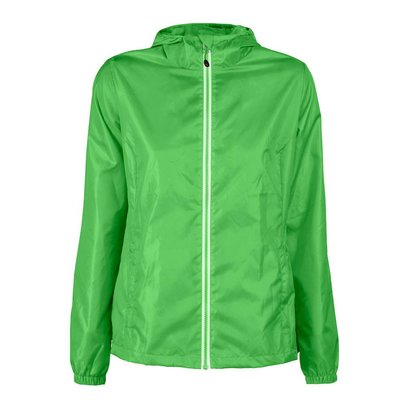 Windbreaker voor dames in limoen