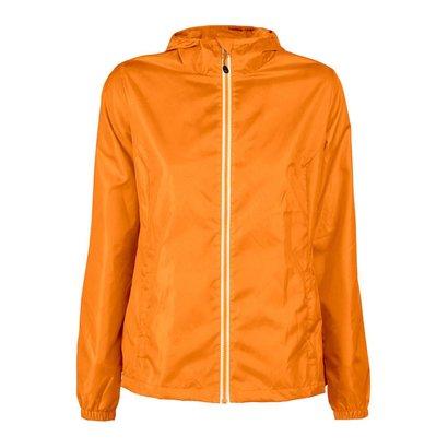 Geocaching Regenjas vrouwen oranje