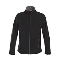 Geocaching Softshell jacket zwart