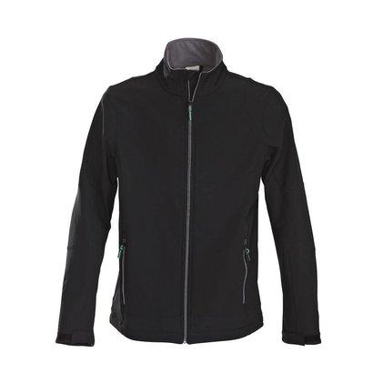 Softshell jacket heren  zwart