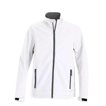 Softshell jacket heren wit