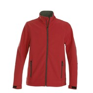 Geocaching Softshell jacket rood