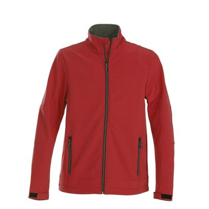 Softshell jacket heren rood