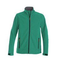 Softshell jacket heren frisgroen