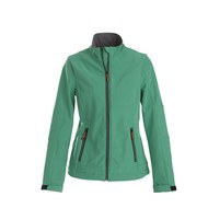 Softshell jacket dames frisgroen