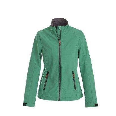 Softshell jacket dames frisgroen