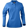 Geocaching Polo  dames LS ocean
